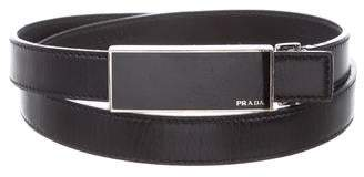 Prada Leather Hip Belt