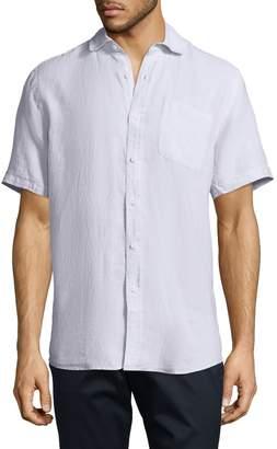 Saks Fifth Avenue Men's Fixed Waist Linen Sportshirt