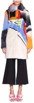 Marco De Vincenzo Eco-fur Coat