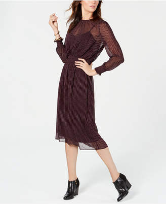 Tommy Hilfiger Mesh Midi Dress, Created for Macy's