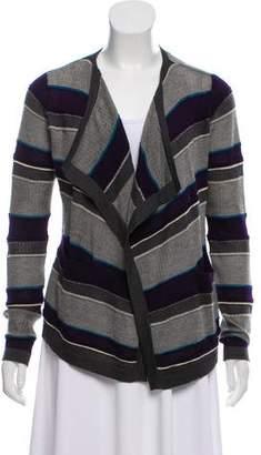 Malo Cashmere Stripe Cardigan