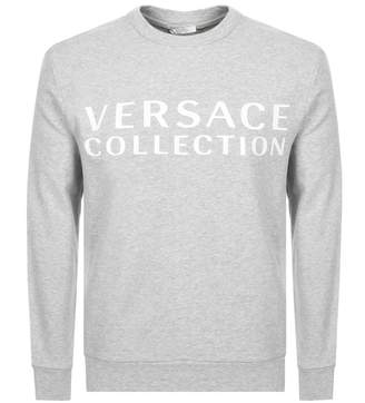 Versace Crew Neck Sweatshirt Grey