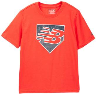 New Balance Short Sleeve Graphic Tee (Big Boys)