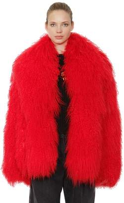 Philosophy di Lorenzo Serafini Mongolian Fur Coat