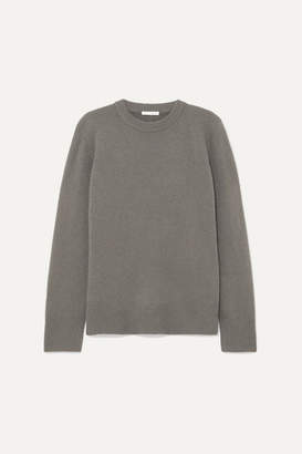 The Row Sibina Wool And Cashmere-blend Sweater - Dark gray