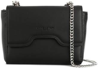 Lancaster foldover chain shoulder bag