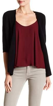 Minnie Rose 3/4 Length Sleeve Cashmere Cardigan