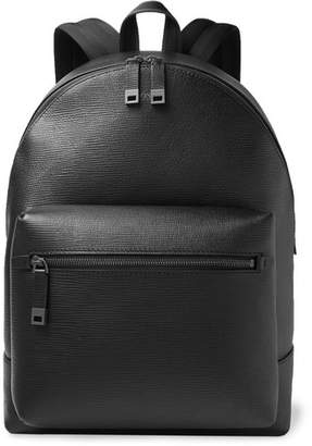 006db3a61bbf HUGO BOSS Cross-Grain Leather Backpack