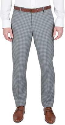 Kenneth Cole Reaction Plaid Slim-Fit Dress Pants