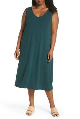 Sejour Cross Back Tank Dress (Plus Size)