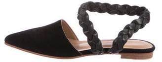 Ulla Johnson Suede Pointed-Toe Sandals