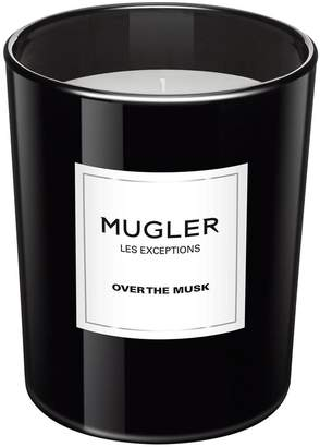 Thierry Mugler Les Exceptions Over the Musk Candle