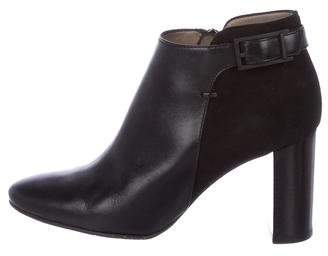 Aquatalia Leather Ankle Boots