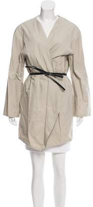 Hache Belted Overlay Jacket w/ Tags