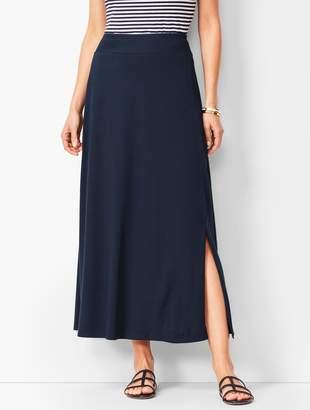 Talbots Jersey Maxi Skirt