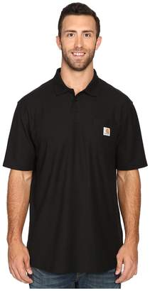 Carhartt Big Tall Contractors Work Pockettm Polo Men's T Shirt