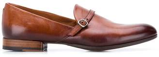 Pantanetti buckle detail loafers