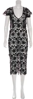 For Love & Lemons Lace Midi Dress w/ Tags