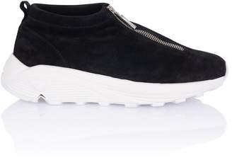 Diemme Fontessi Black Suede Sneaker