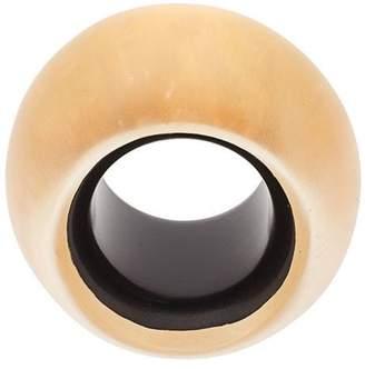 Monies oversized round ring