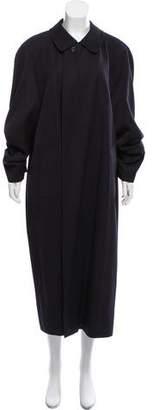 Aquascutum London Oversize Wool Coat