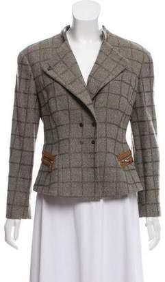 Giorgio Armani Wool Knit Blazer