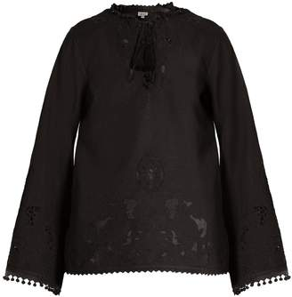 TALITHA Sana cut-out cotton tunic