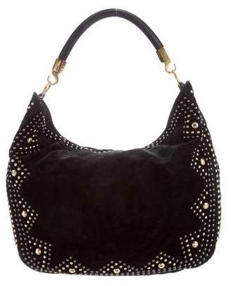 Saint Laurent Roady Rock Studded Hobo