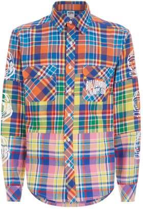 Billionaire Boys Club Check Logo Sleeve Shirt