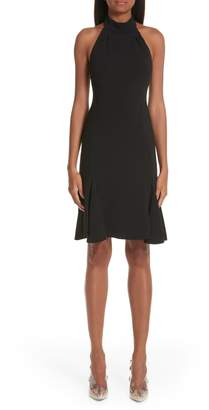 Stella McCartney Stretch Cady Halter Dress