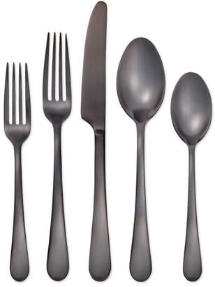 Pottery Barn Mirabella Flatware, Set of 5 - Gunmetal