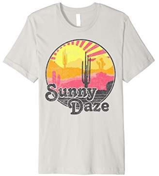 Sunny Days Colorful Dessert Sunset Graphic Premium T-Shirt