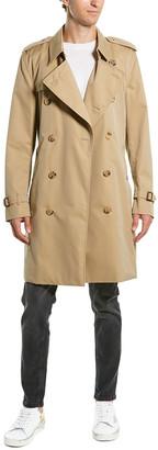 Burberry Kensington Heritage Medium Trench Coat