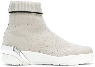 Crime London Moonrock hi-top sneakers