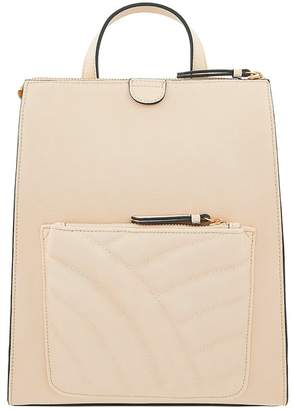 Accessorize Womens Cream Sienna Quilted Backpack - Cream