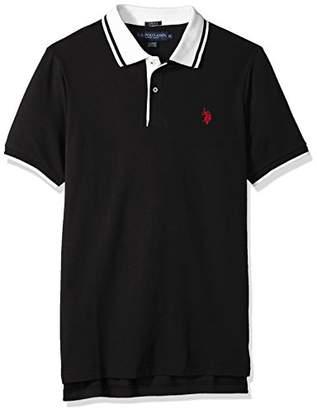 U.S. Polo Assn. Men's Short Sleeve Classic Fit Solid Pique Polo Shirt