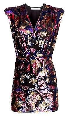 IRO Women's Irva Sequin Structure Mini Dress