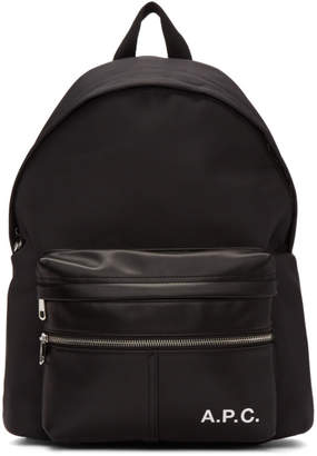 A.P.C. Black Camden Backpack