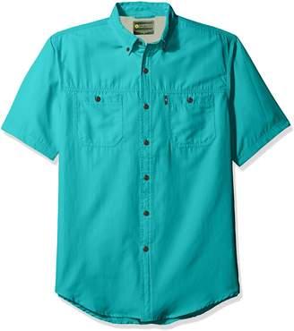 G.H. Bass & Co. Men's Explorer Sportsman Short Sleeve Shirt