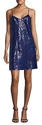 Tommy Hilfiger Tommy Tommy Women's Tartan Sequin Slip Dress
