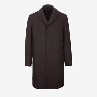 Bally Single Breasted Wool Overcoat