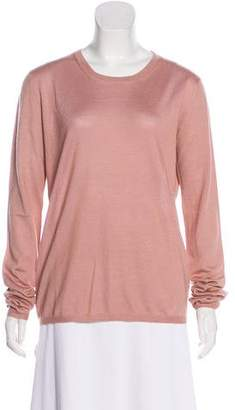 Miu Miu Cashmere & Silk-Blend Knit Top w/ Tags