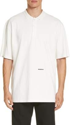 Calvin Klein Oversize Polo