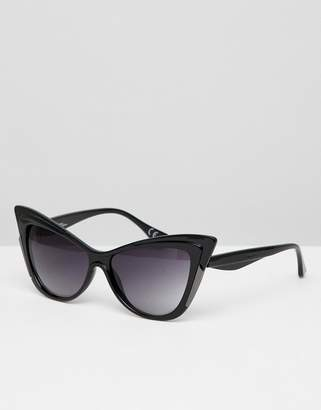 Jeepers Peepers Novelty Cat Eye Sunglasses