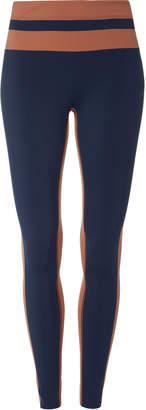 4aa782b616c6 Navy Striped Leggings - ShopStyle UK