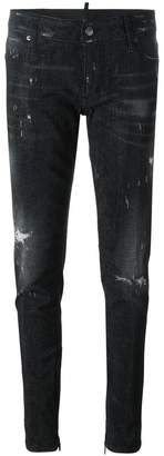 DSQUARED2 Skinny microstudded jeans