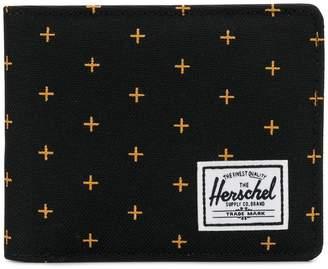 Herschel cross print wallet