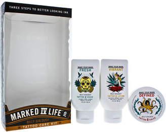 Billy Jealousy Marked IV Life Tattoo Care Kit 3.oz Tattoo Wash, 3oz Tattoo