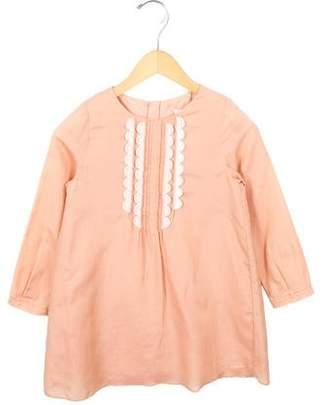 Chloé Girls' Long Sleeve Shift Dress w/ Tags