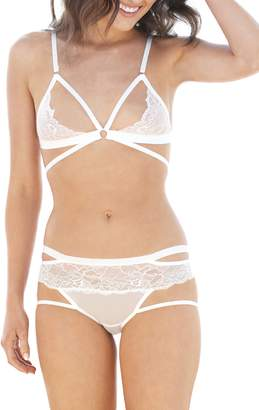 7d404c67b7d32 Honeydew Intimates Lucy Bralette   Hipster Panties Set
